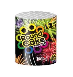Artificii baterie tropic tb157 round cake