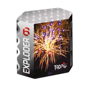 Artificii baterie tropic tb19 exploder 6