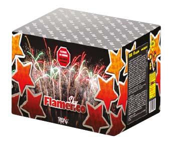 Artificii baterie tropic tb60 sky flamenco