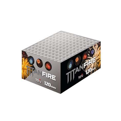 Artificii baterie tropic tb85 titan fire