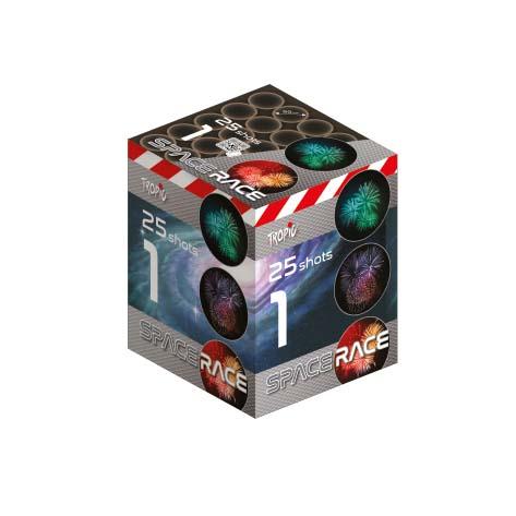 Artificii baterie tropic tb87 space race 1